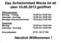 Schwimmbadfest 2013