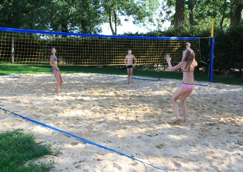 Beach Volleyballfeld
